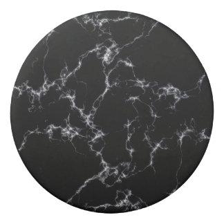 Elegant Marble style4 - Black and White Eraser