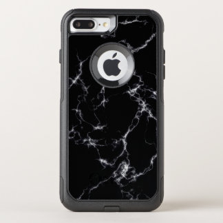 Elegant Marble style4 - Black and White OtterBox Commuter iPhone 8 Plus/7 Plus Case