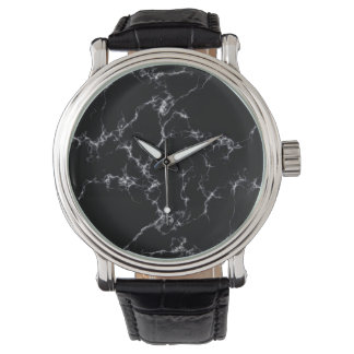 Elegant Marble style4 - Black and White Watch