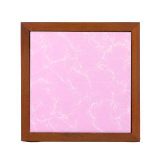 Elegant Marble style5 - Cherry Blossoms Pink Desk Organiser