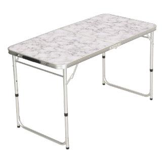 Elegant Marble style Beer Pong Table