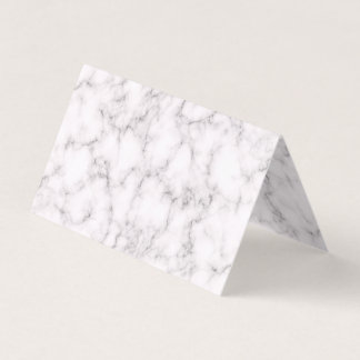 Elegant Marble style Business Card