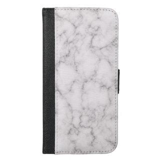 Elegant Marble style iPhone 6/6s Plus Wallet Case