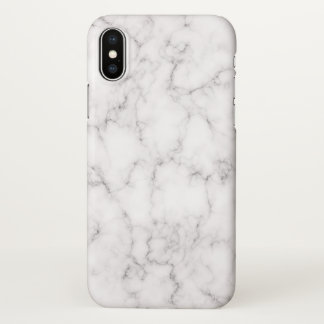 Elegant Marble style iPhone X Case