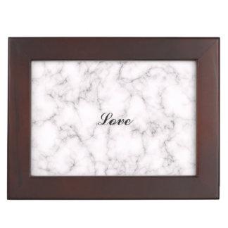 Elegant Marble style Keepsake Box