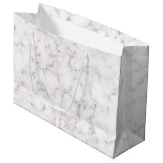 Elegant Marble style Large Gift Bag