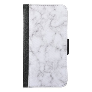 Elegant Marble style Samsung Galaxy S6 Wallet Case