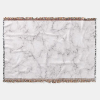 Elegant Marble style Throw Blanket