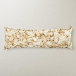 Elegant Marble Texture Body Cushion