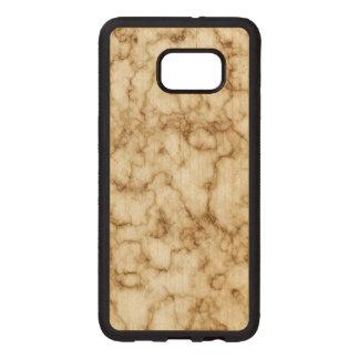 Elegant Marble Texture Wood Samsung Galaxy S6 Edge Case
