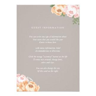 Elegant Mason Jar Insert Card