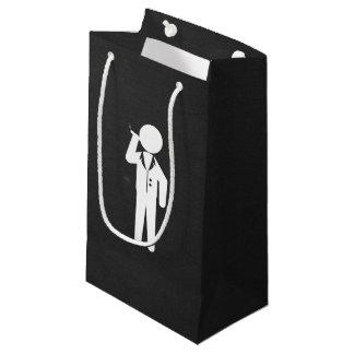 Elegant Mens Minimal Small Gift Bag