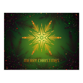 ELEGANT MERRY CHRISTMAS | HOLIDAY PHOTO POSTCARD