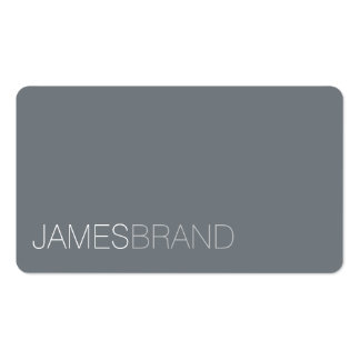 Elegant Minimalist Pack Of Standard Business Cards