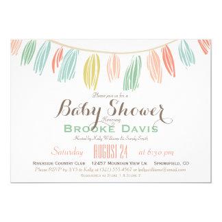 Elegant, Modern Baby Shower Invitation