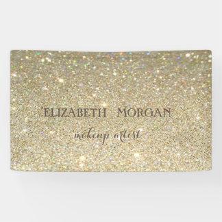 Elegant Modern Chic Glittery Bokeh, Banner