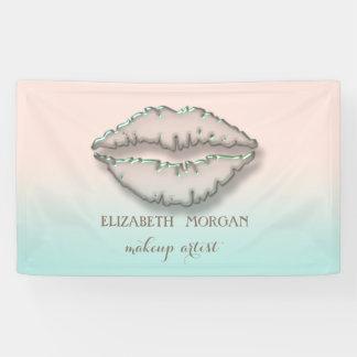 Elegant Modern Chic,Lips Banner