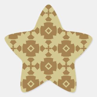 Elegant Modern Classy Retro Star Sticker