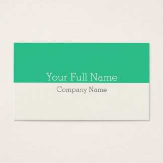 ELEGANT MODERN CLEAR FRESH SIMPLE MAKE-UP BUSINESS CARD