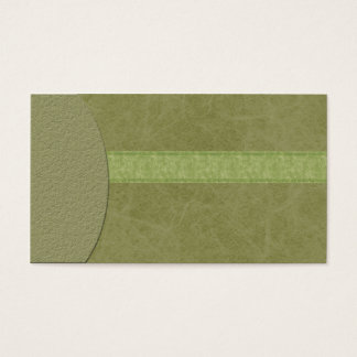 Elegant & Modern Marbled Textured Green Business C