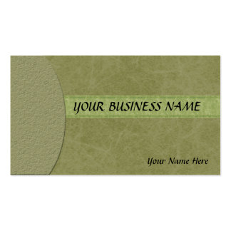 Elegant & Modern Marbled Textured Green Business C Pack Of Standard Business Cards