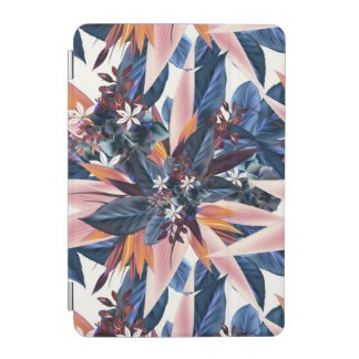 Elegant modern pointy leaf art painting iPad mini cover