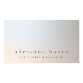 Elegant Modern Professional Luminous Taupe Gray Pack Of Standard Business Cards