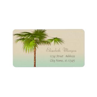 Elegant Modern Stylish,Palm Label