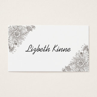Elegant Modern Trendy Style Business Card