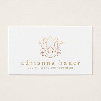 Elegant Modern White Lotus Flower
