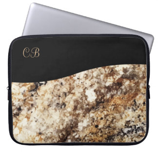 Elegant Monogam Laptop Sleeve