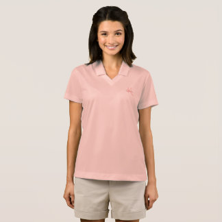 Elegant Monogram and Name Polo Shirt