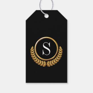 Elegant Monogram Gift Tags