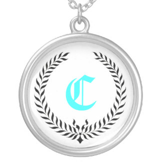 Elegant Monogram Pendants