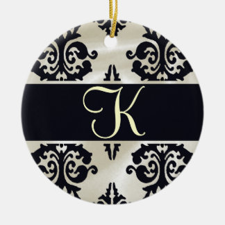 Elegant Monogram Ornament