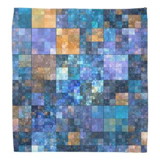 Elegant Mosaic Colorful Pattern Bandana