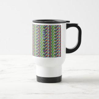 Elegant Multicolor STAR Pattern : Grace n Serenity Coffee Mugs
