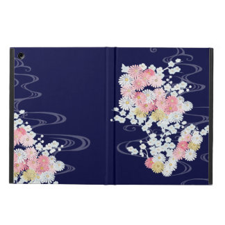 Elegant Mums and Plum Kimono Powis iPad Air Case