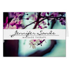 ELEGANT NAME with CHERRY BLOSSOMS Folded Card