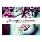 ELEGANT NAME with CHERRY BLOSSOMS Postcard