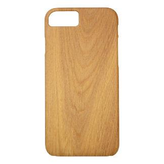 Elegant oak wood grain photo texture iPhone 7 case
