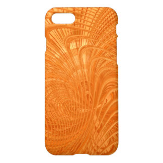 Elegant orange abstract Art Case