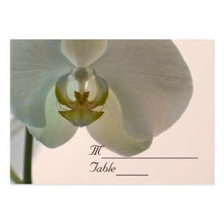Elegant Orchid Wedding RSVP Response Card Business Cards