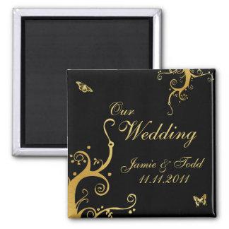 Elegant Our Wedding Magnet