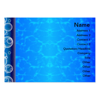 Elegant Paper Flower Cut Outs Big Business Card Templates