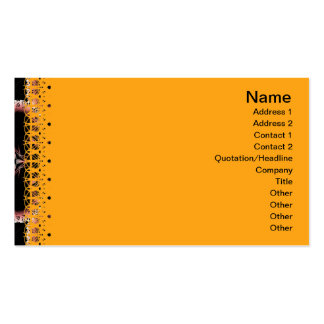 Elegant Paper Flower Cut Outs Big Pack Of Standard Business Cards