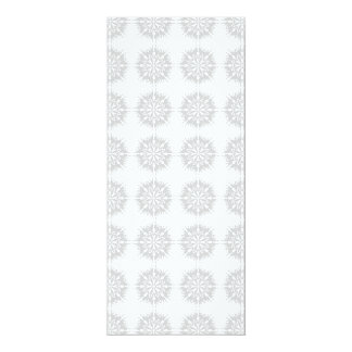 Elegant pattern, light gray and white. announcement