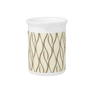 Elegant pattern pitcher