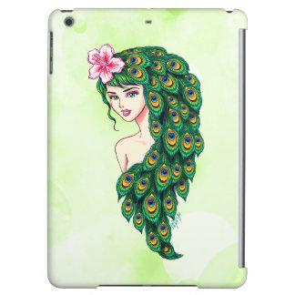 Elegant Peacock Goddess Art iPad Air Case