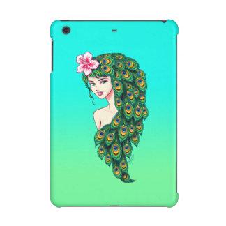 Elegant Peacock Goddess Art iPad Mini Case